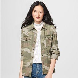 Aeropostale camouflage oversize jacket